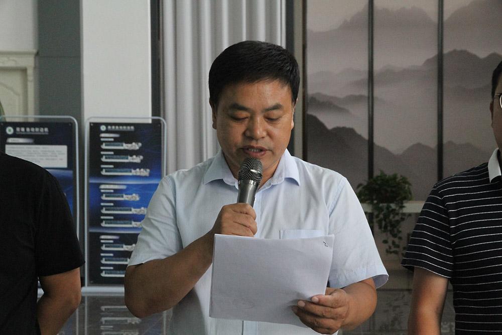 县总工会副主席白晓潮同志