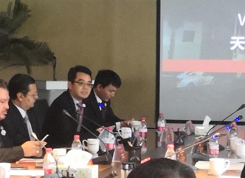 天马迅达物流集团总裁罗浩圆桌会议发言天马迅达全球战略发展总部设立郑州1.jpg